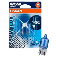 Лампа накаливания Osram, COOL BLUE INTENSE W5W 12В 5Вт